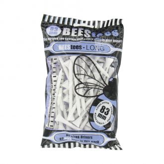 BEESTees 83mm Golf Tees - Pack of 80