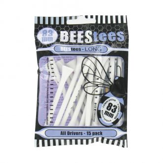 BEESTees 83mm Golf Tees - Pack of 15