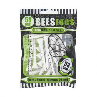 BEESTees 53mm Golf Tees - Pack of 25