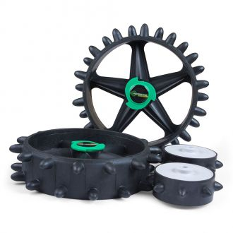 """Brand Fusion HillBilly """"Two Front Wheel"""" Hedgehog Electric Kit"""