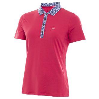 Calvin Klein Ladies Acadia Golf Polo Shirt