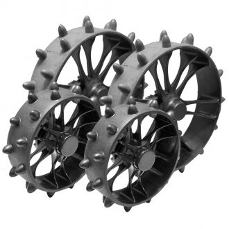 Clicgear 8.0 Trolley Hedgehog Wheels