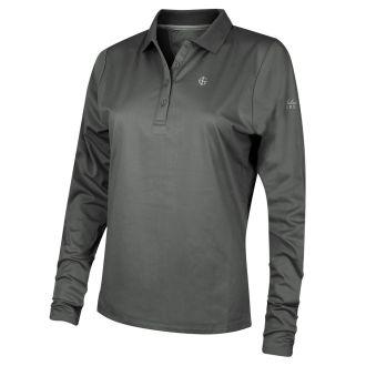 Island Green Ladies Long Sleeve Polo Shirt