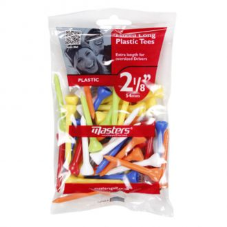 Masters Mixed Long Plastic Tees 54mm