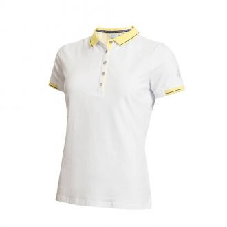 Green Lamb Paige Jersey Club Ladies Golf Polo Shirt