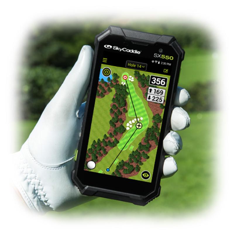SkyCaddie SX550 GPS Range Finder Review