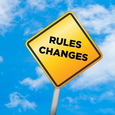 Rules - Key changes In 2019