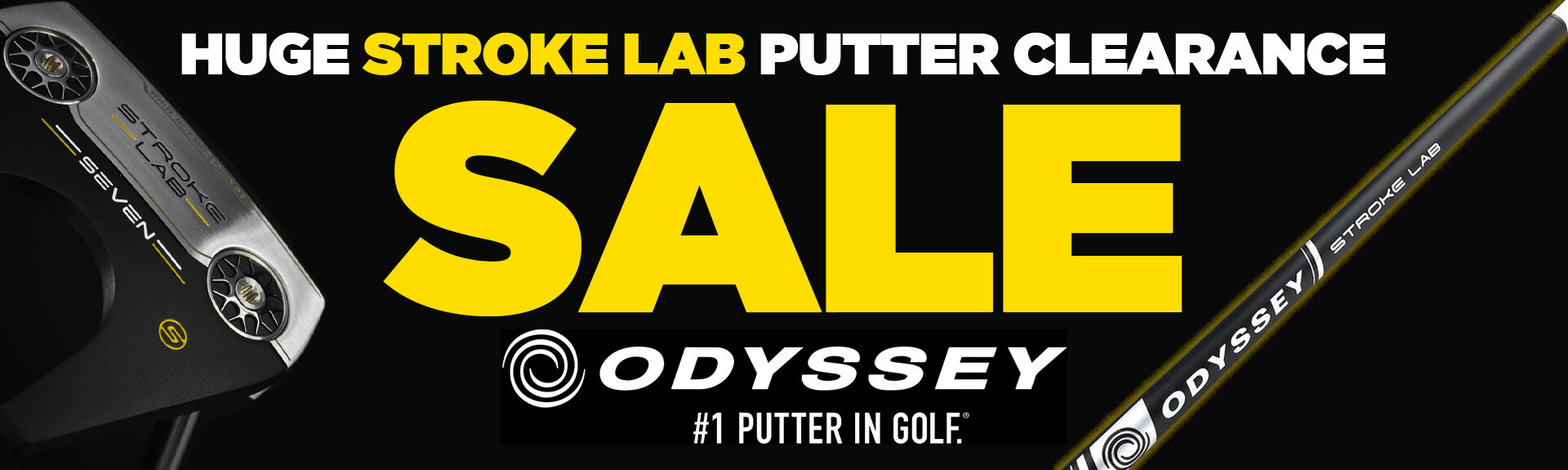 Odyssey Stroke Lab Putter Clearance