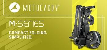 Motocaddy M Series Electric Trolleys