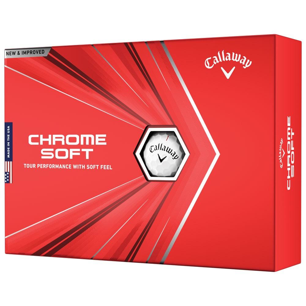 Callaway Chrome Soft 2021 Golf Balls