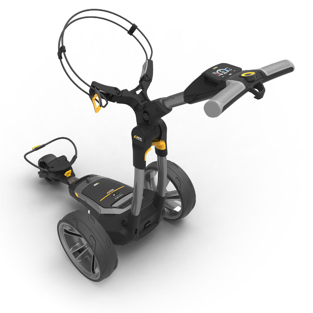 PowaKaddy CT6 Extended Lithium Electric Golf Trolley