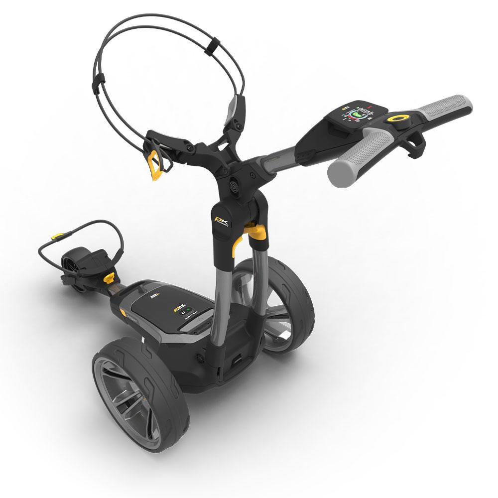 PowaKaddy CT6 GPS Lithium Electric Golf Trolley