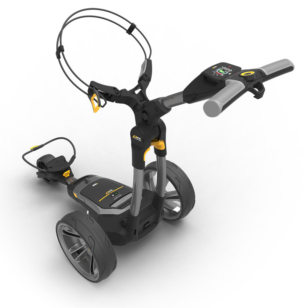 PowaKaddy CT6 GPS EBS Extended Lithium Electric Golf Trolley