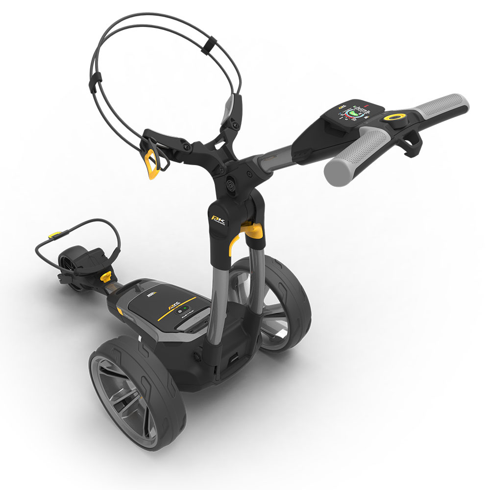 PowaKaddy CT6 GPS Extended Lithium Electric Golf Trolley