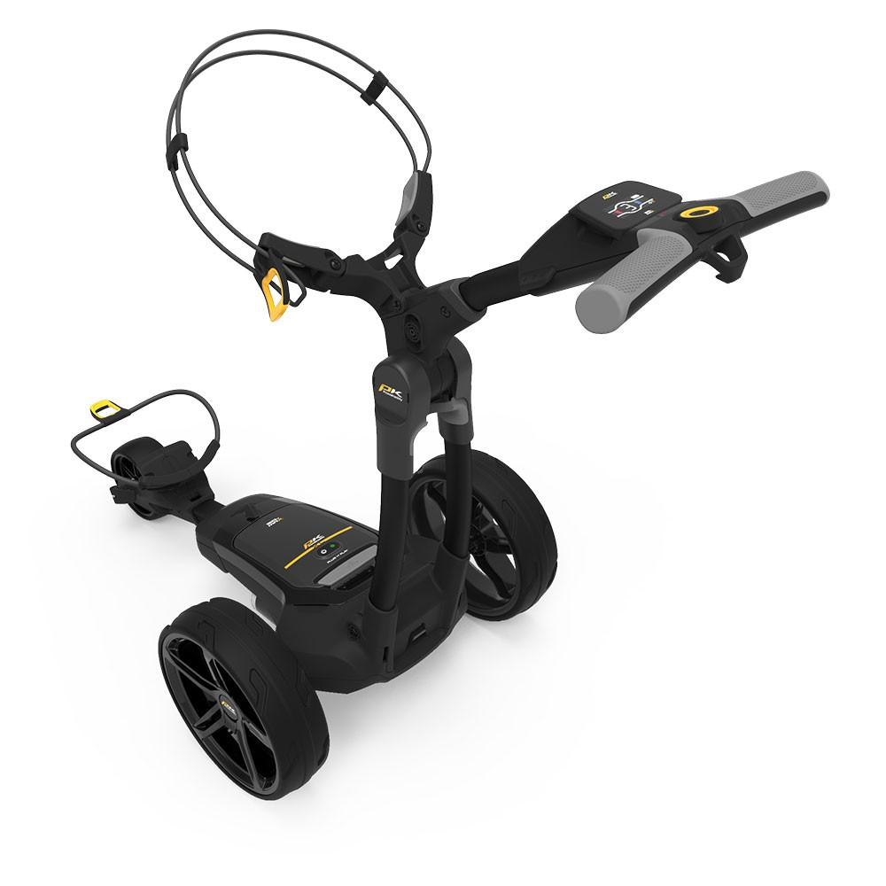 PowaKaddy FX3 EBS Extended Lithium Electric Golf Trolley