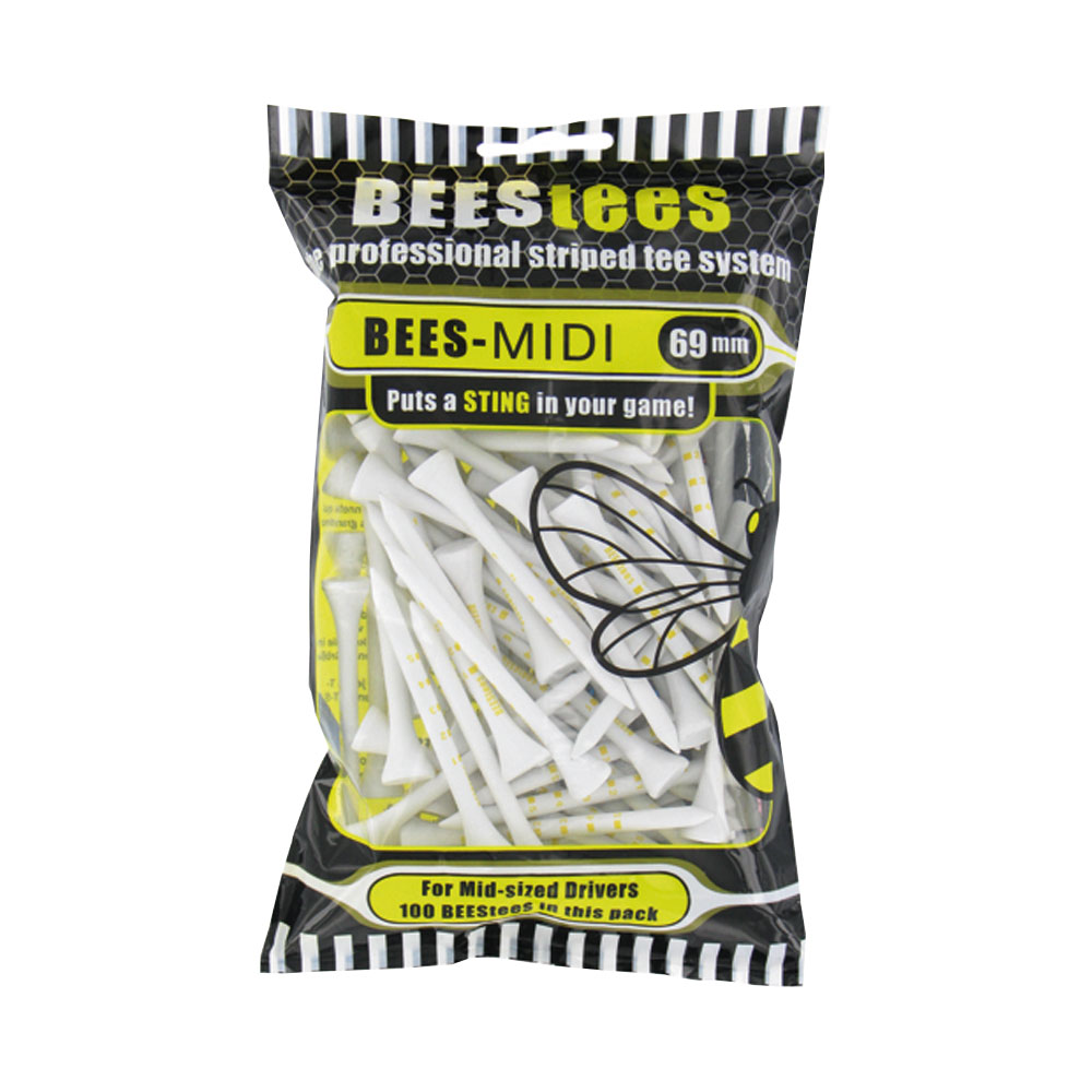 BEESTees 69mm Golf Tees - Pack of 20