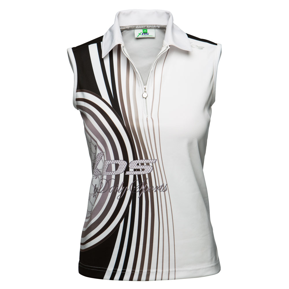 Daily Sports Claire Sleeveless Ladies Polo Shirt
