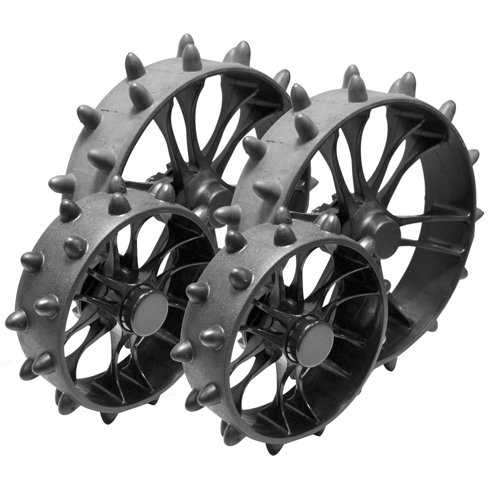 Clicgear 8.0 Trolley Hedgehog Wheels