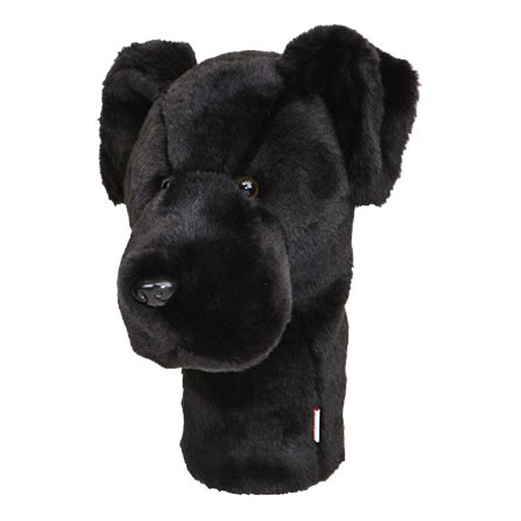 Daphne's Black Labrador Driver Headcover