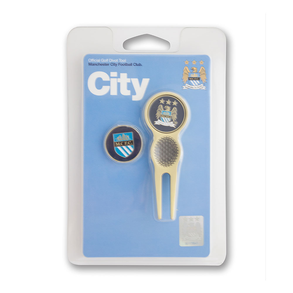 Manchester City Exec Divot Tool and Marker