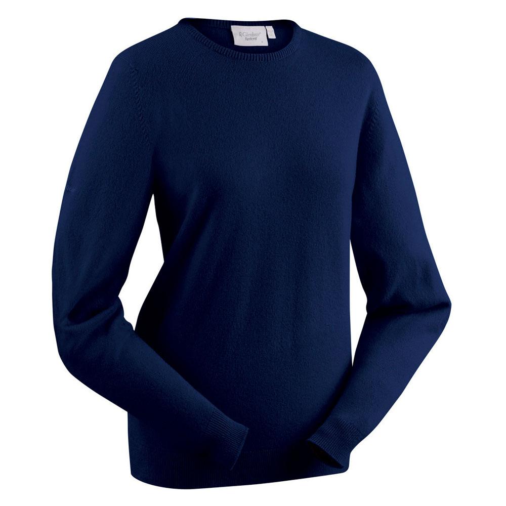 Glenbrae Ladies Lambswool Crew Neck Sweater
