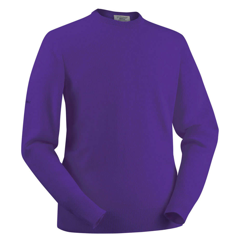 Glenbrae Lambswool Crew Neck Sweater