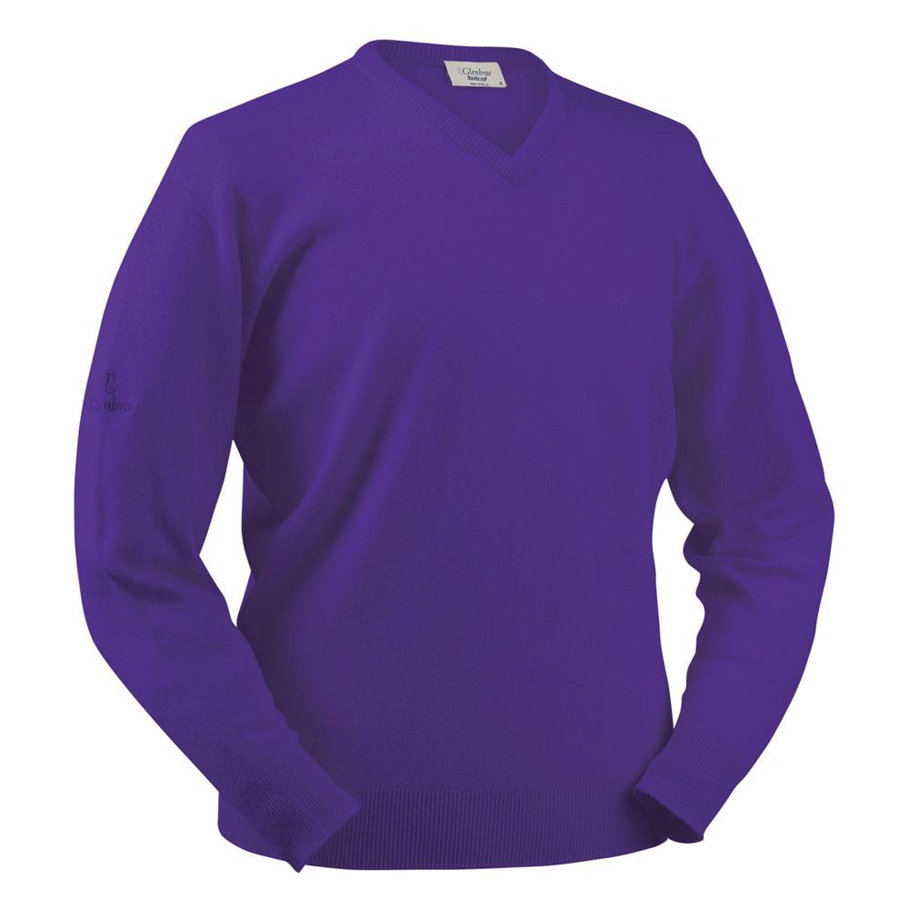 Glenbrae Lambswool V-Neck Sweater