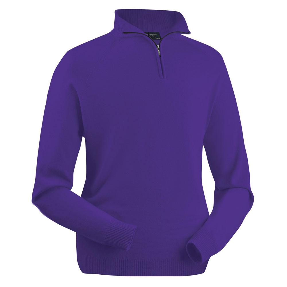 Glenbrae Merino Zip Neck Pullover