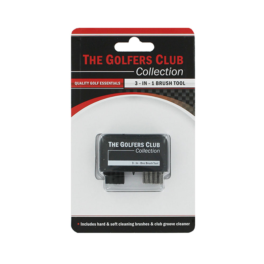 The Golfers Club 3-In-1 Brush Tool