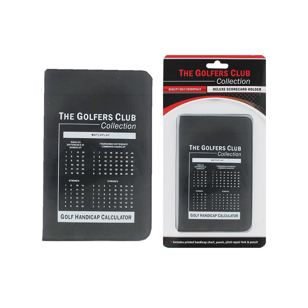 The Golfers Club Deluxe Scorecard Holder