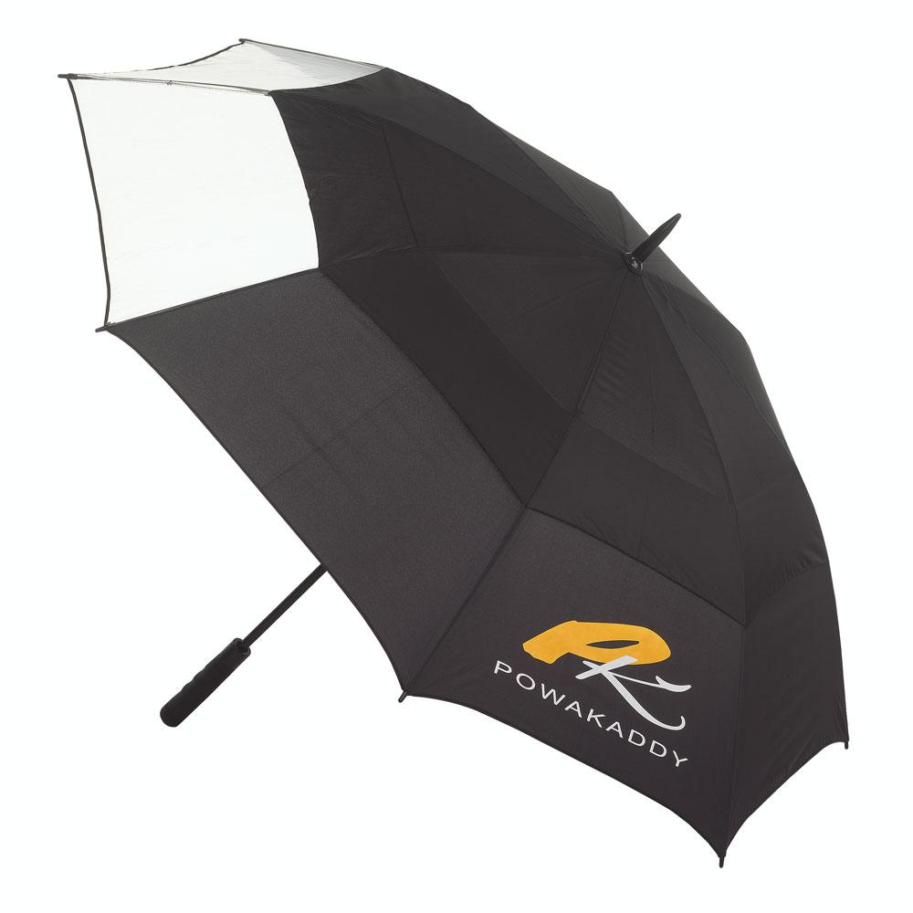 Powakaddy Clearview Double Canopy Golf Umbrella