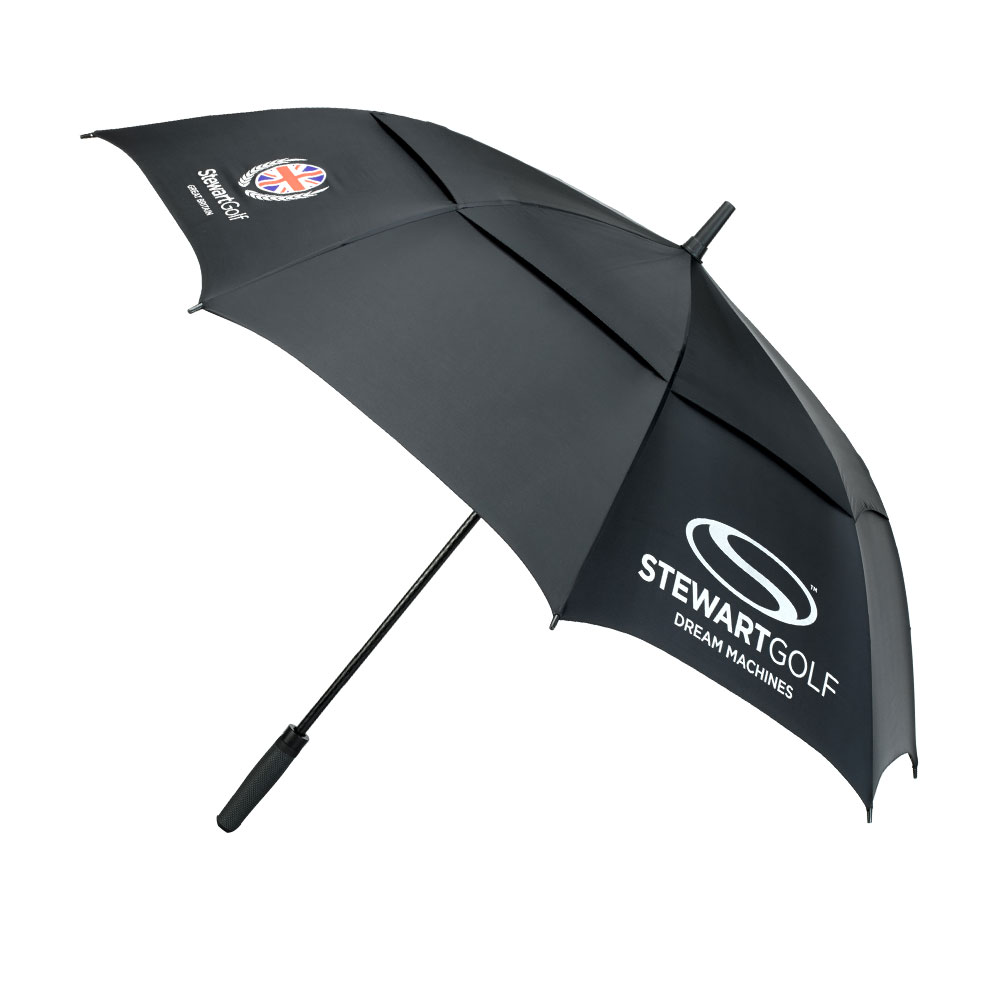 Stewart Golf Automatic Double Canopy Umbrella