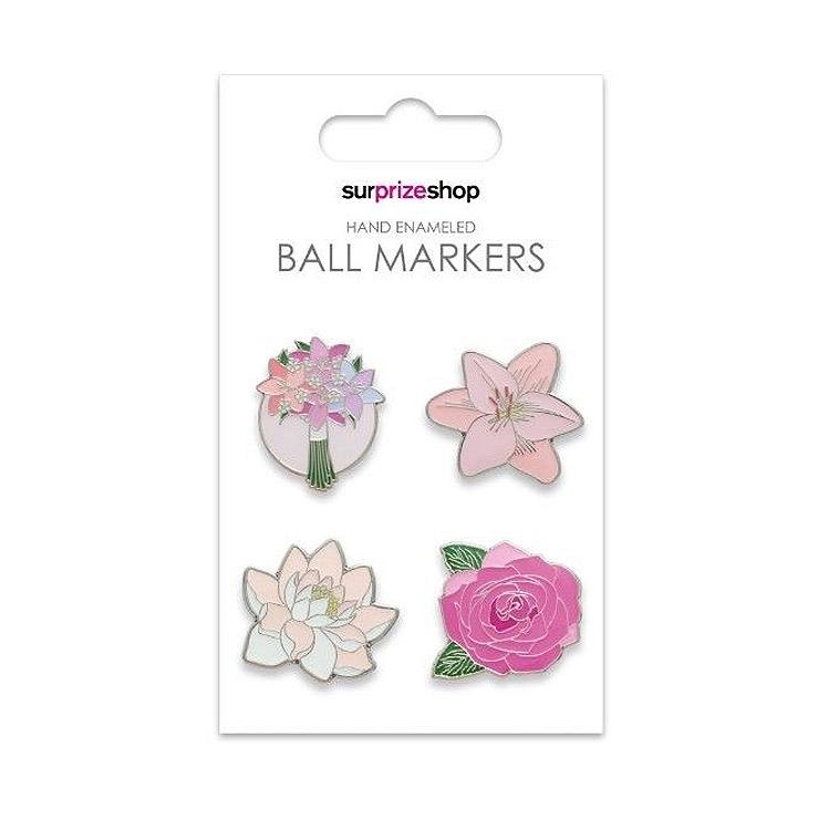 Surprizeshop Flower Ball Marker Set