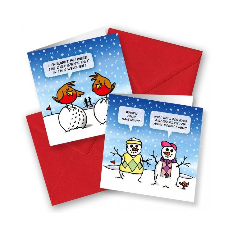 SurprizeShop Pack of 10 Christmas Cards