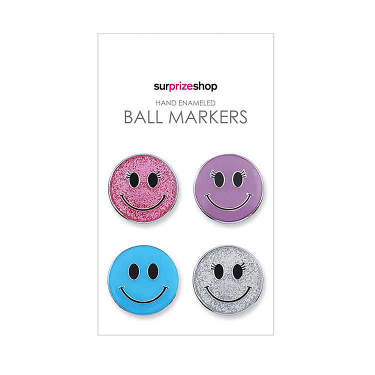 Surprizeshop Smiley Ball Marker Set