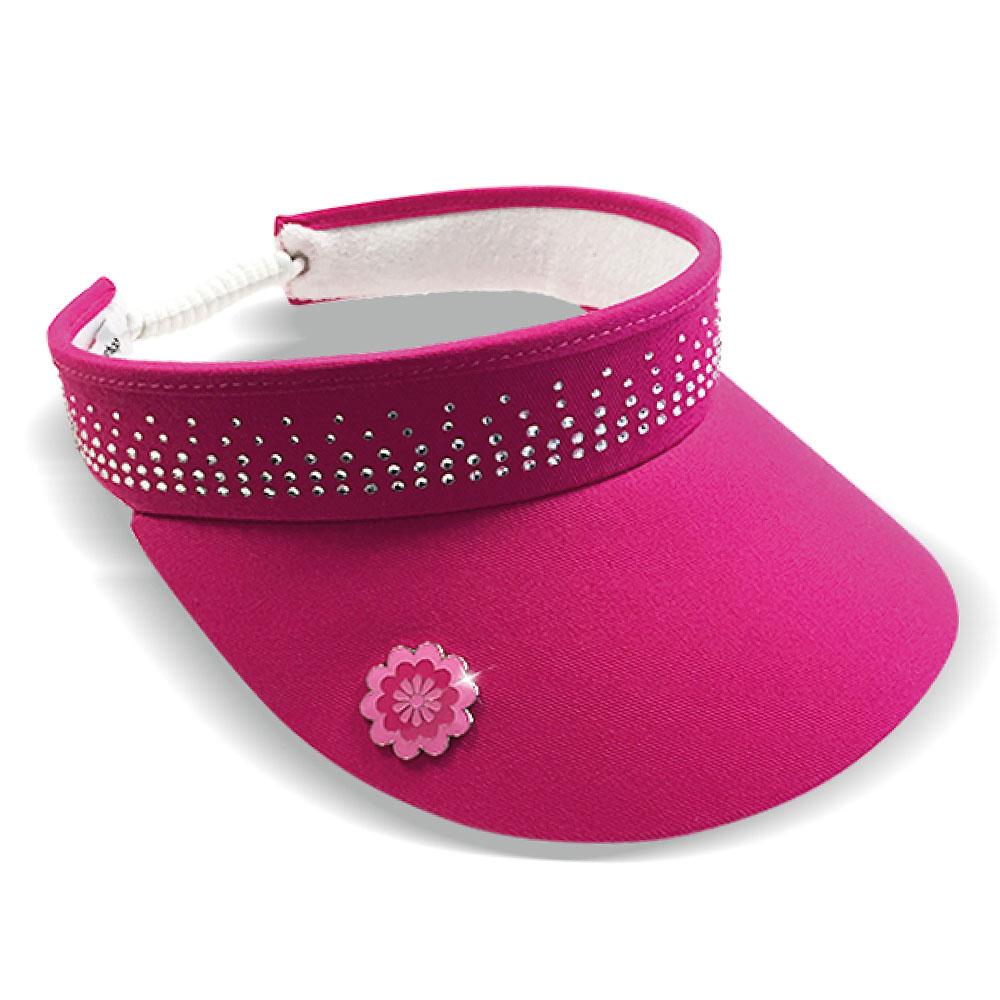 Surprizeshop Ladies Crystal Embellished Golf Visor