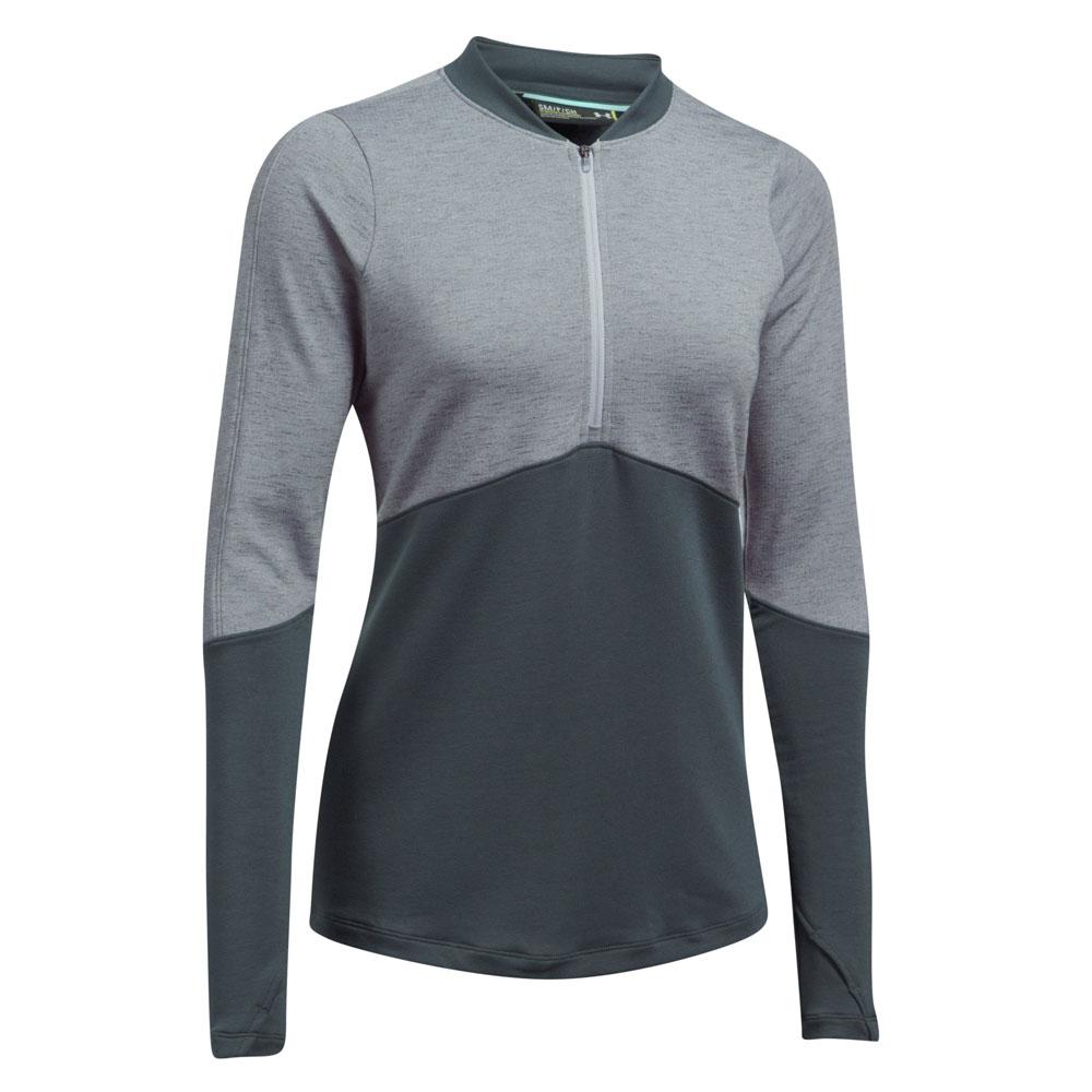 Under Armour Ladies Threadborne 1/2 Zip Golf Pullover