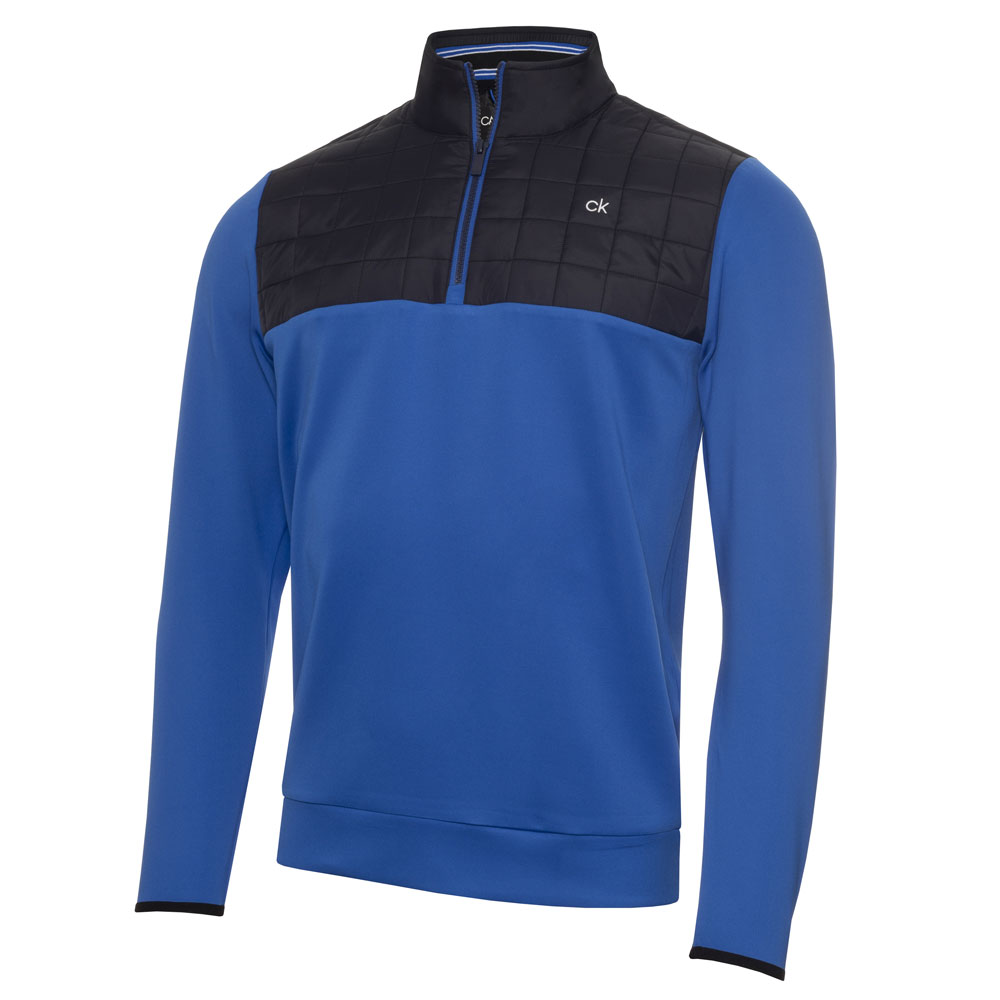 Calvin Klein Vardon Hybrid Half Zip Golf Pullover