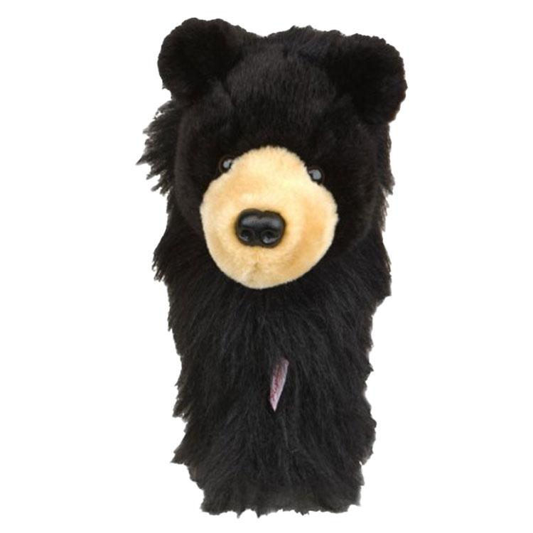 Daphne's Black Bear Golf Driver Headcover