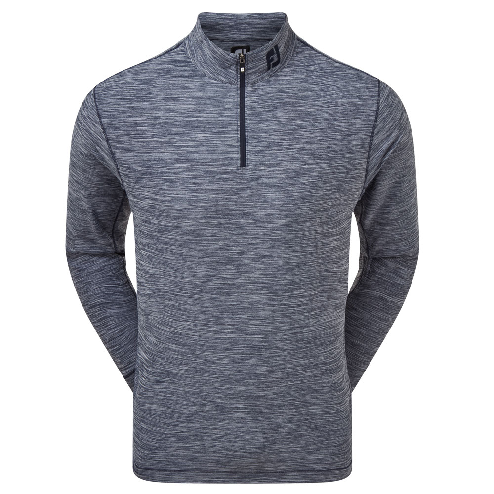 FootJoy Space Dye Brushed Back Chill-Out Golf Pullover