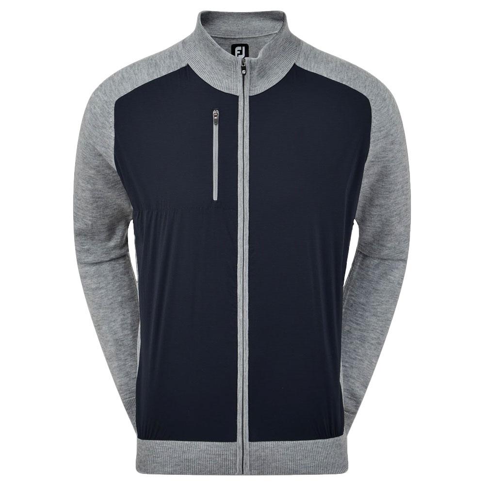 FootJoy Wool Blend Tech Full-Zip Golf Jacket