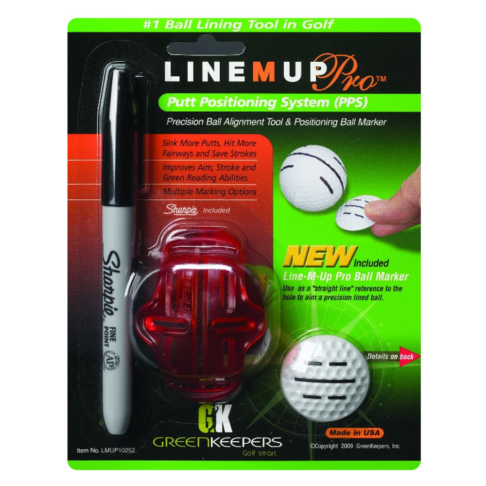 Green Keepers Line M Up Putt Positioning System