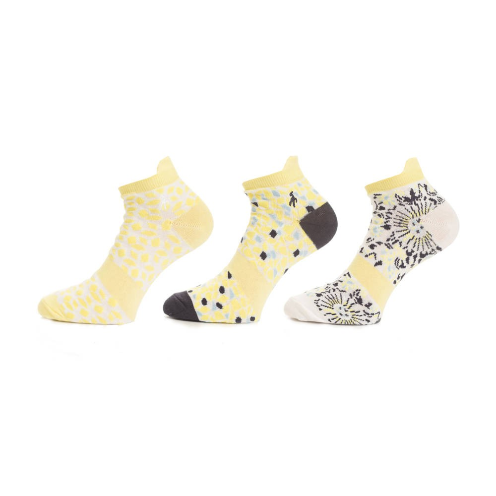 Green Lamb Patterned Ladies Golf Socks (3-Pack)