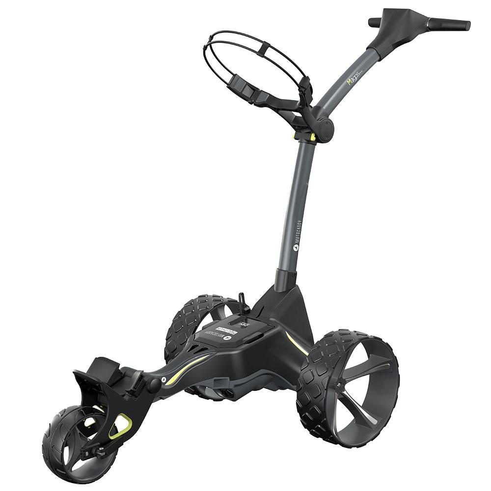 Motocaddy 2021 M3 GPS DHC Lithium Electric Golf Trolley