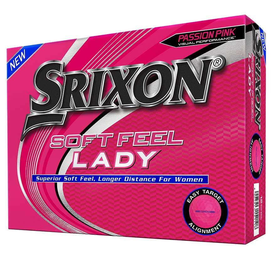 Srixon Soft Feel Passion Pink Lady Golf Balls