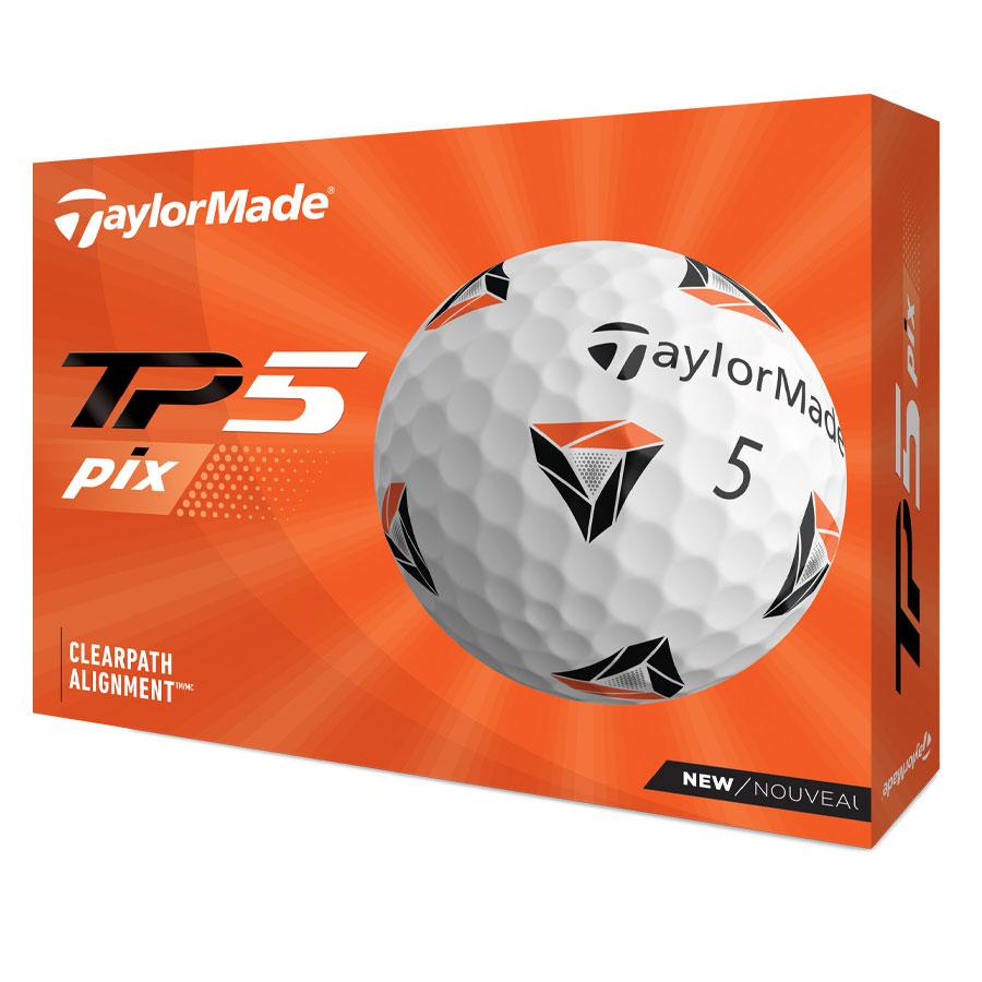 TaylorMade TP5 Pix 2021 Golf Balls