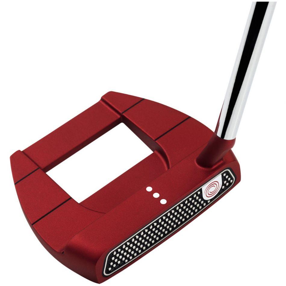 Odyssey O-Works Jailbird Mini Red Golf Putter (Right Hand / 34