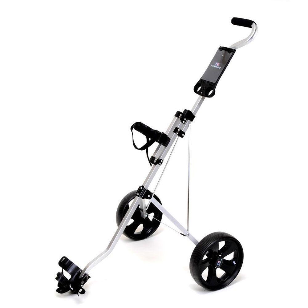 US Kids Two-Wheel Push Golf Trolley
