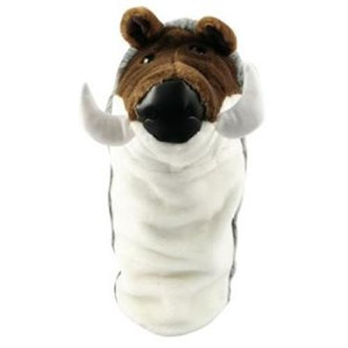Masters Wild Boar Headcover with Knitted Sock