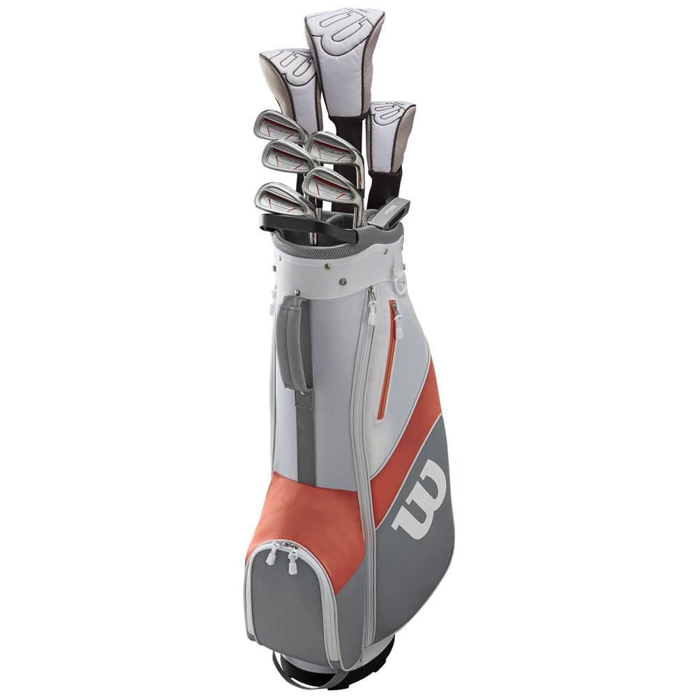 Wilson 1200 TPX Ladies Graphite Golf Package Set